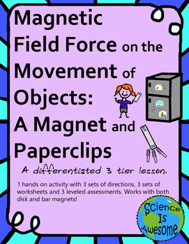 Field Force: Magnetism: Investigating a Paper Clip in a Magnetic Field