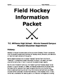 Field Hockey Information Packet for Physical Education Classes