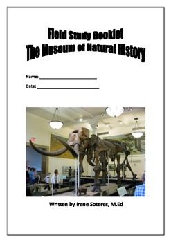 Field Study Booklet for Museum of Natural History