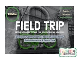 FIELD TRIP PLAN * SPECIAL EDUCATION * Organizing Students