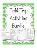 Field Trip Reflection Activities Bundle