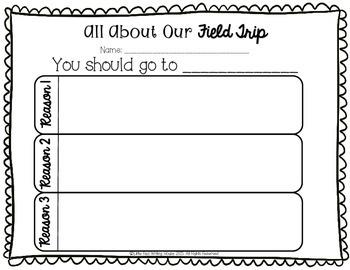 Field Trip Activities & Task Cards