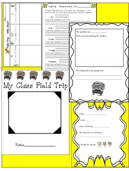 Field Trip Activity Pack .