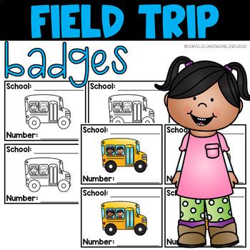Field Trip Badges