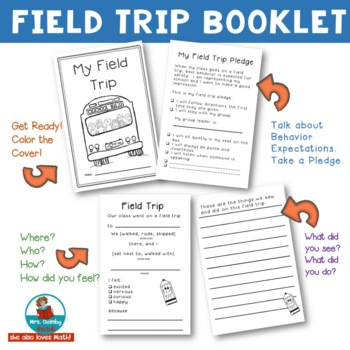 Field Trip Booklet | Behavior Expectations | Interactive Booklet