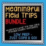 Field Trip Activities Bundle