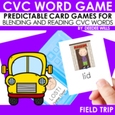 CVC Word Game:  Field Trip  and Lost! Game