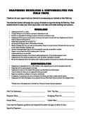 Field Trip Chaperone Guidelines