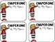 Field Trip Chaperone Name Tags & Forms