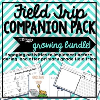 Field Trip Companion Pack - Growing Bundle