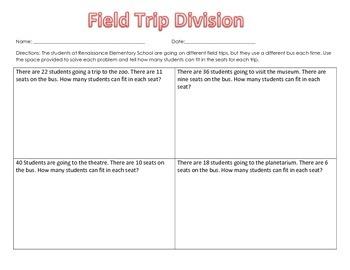Field Trip Division