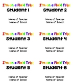 Field Trip Editable Name Badges