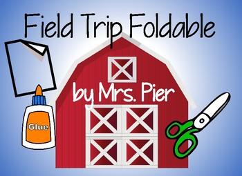 Field Trip Foldable