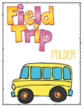 Field Trip Folder FREEBIE