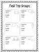 Field Trip Forms & More - OCEAN Theme {EDITABLE}