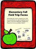 Fall Field Trip Planning Packet