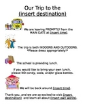 Field Trip Information Sheet for Parents