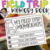 Field Trip Memory Book   Field Trip Reflection   No Cut Flipbook