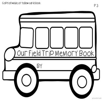 Field Trip Writing Books