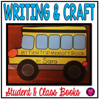 Field Trip Reflection Writing Activities and Craft for Primary Grades