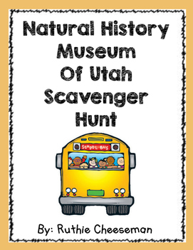 Field Trip Natural History Museum Scavenger Hunt