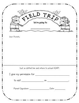 Field Trip Note