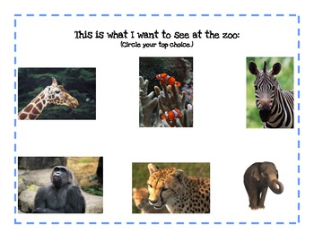 Field Trip Pack (A Zoo Trip)