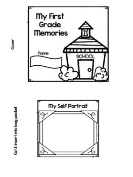 Field Trip Paper Bag Memory Book- Editable