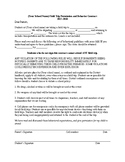 High & Middle School Editable Field Trip AND Behavioral Co