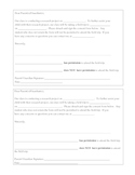 Field Trip Permission Form B