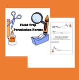 Field Trip Permission Forms