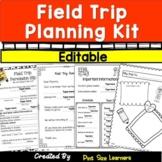 Field Trip Permission Slips   Editable