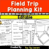EASY Field Trip Planning | Permission Slips and other Forms | Student Reflection