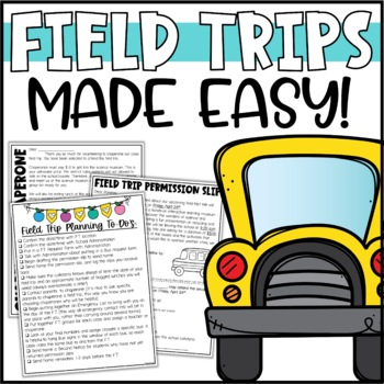 Field Trip Planning Pack