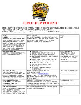 Field Trip Project
