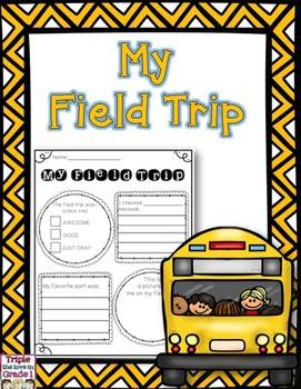 FREE Field Trip Reflection