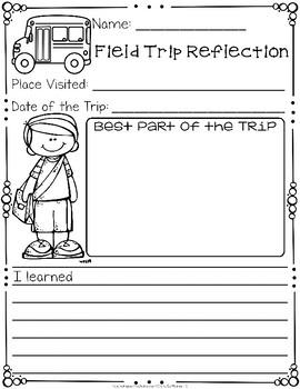 Field Trip Reflection Form