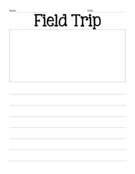 Field Trip Reflection Writing