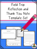 Field Trip Reflection and Thank You Note Set