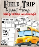 Field Trip Report Forms Set