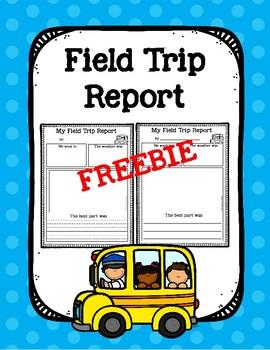 Field Trip Report FREEBIE