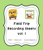 Field Trip Scavenger Hunt Printables for Pre-K & K