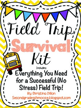 Field Trip Survival Kit {Everything You Need}