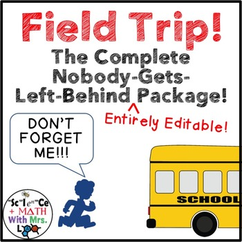 Field Trip! The Complete Nobody Gets Left Behind Package