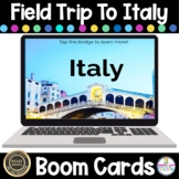 Field Trip To Italy Boom Cards