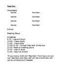 Field Trip Volunteer Info Letter