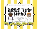 Field Trip Writing {Opinion & Transitional Words} with Gra
