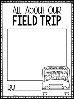Field Trip Writing Prompts