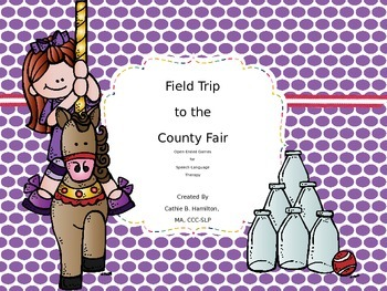 Field Trip to the County Fair during Speech-Language Therapy