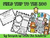 Field Trip to the Zoo Writing Craftivity